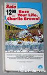 Race for your life, Charlie Brown VHS Video