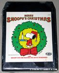 Merry Snoopy's Christmas 8-track Tape