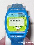 Snoopy soccer player Digital Watch