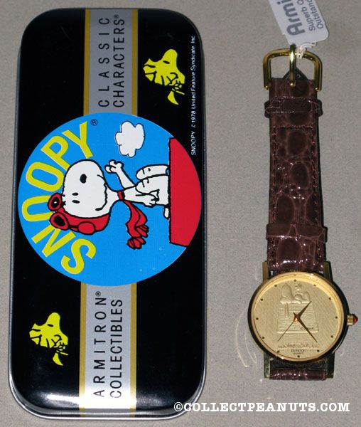 Peanuts Armitron Watches Collectpeanuts Com