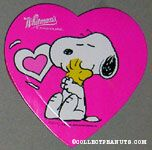 Snoopy hugging Woodstock Candy Box