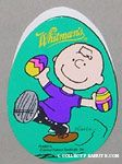 Charlie Brown dancing with Easter Eggs Egg-Shaped Chocolate Box