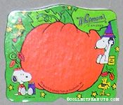 Snoopy & Woodstock Green & Orange Halloween Figure Chocolate Box