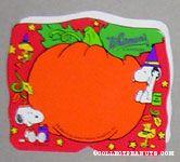 Snoopy & Woodstock Red & Orange Halloween Figure Chocolate Box