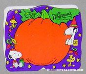 Snoopy & Woodstock Purple & Orange Halloween Figure Chocolate Box