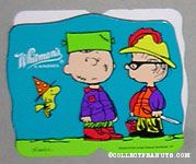 Charlie Brown as Frankenstein and Linus as Conquistador Halloween Chocolate Box