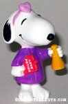 Scientist Snoopy holding beaker and love potion PVC Figurine