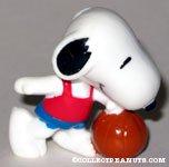 Snoopy basketball player PVC Figurine