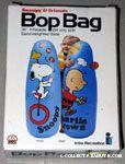 Snoopy juggling & Charlie Brown flying kite Bop Bag