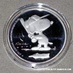 Baseball Snoopy Batting