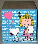Snoopy & Sally wooden box