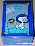 Snoopy & Woodstock astronauts on planet organization container