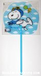 Snoopy Flying Ace in the clouds Fan