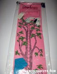 Vulture Snoopy and Charlie Brown with Kite Tree Growth Chart - Pink