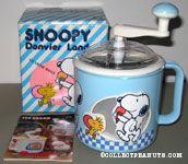 Snoopy & Woodstock Blue Ice Cream Maker