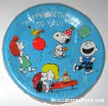 Peanuts & Snoopy Party Plates