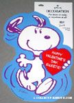 Snoopy Holding Heart