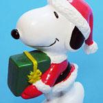 Peanuts & Snoopy Christmas Whitman's PVC Figurines