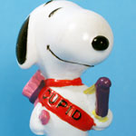 Peanuts & Snoopy Valentine's Day Whitman's PVC Figurines