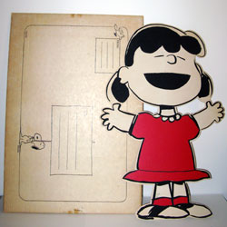 Click to view the Lucy Stand-up Greeting Card