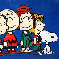 Click to view the Peanuts TV Trays