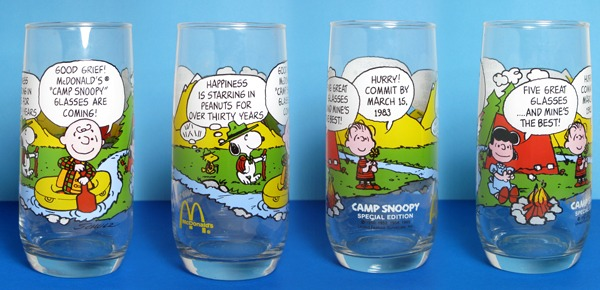 7ec1ebda7f How I found the rare sixth Camp Snoopy Glass - CollectPeanuts.com