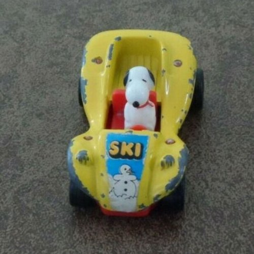 Snoopy Aviva Die-Cast Car