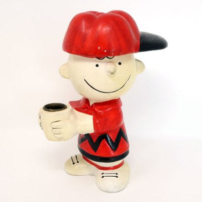 Charlie Brown Candle Holder