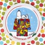 Snoopy 1981 Christmas Plate