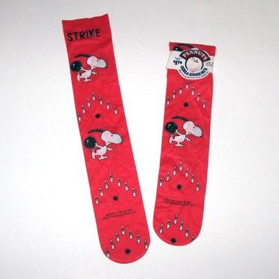 Snoopy Bowling Girls Knee-Hi Socks