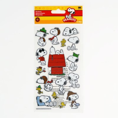 Snoopy & Woodstock Foil Stickers