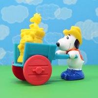 Snoopy's Hay Hauler McDonald's Toy