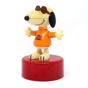 Snoopy Joe Cool Push Puppet