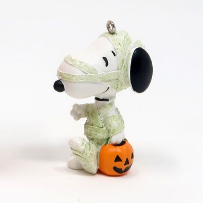 Snoopy Mummy Costume Halloween Ornament