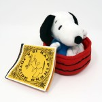 Snoopy in Dog Dish Plush Toy