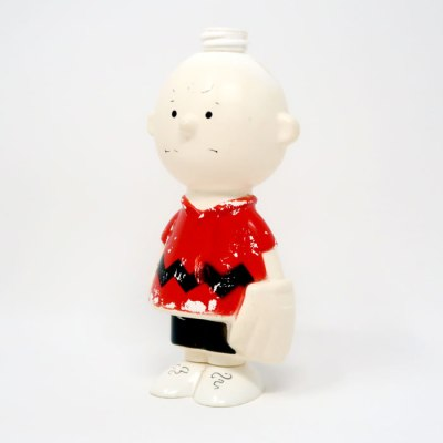 Charlie Brown Avon Bottle