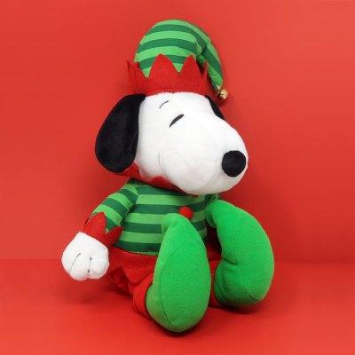 Elf Snoopy Christmas Plush