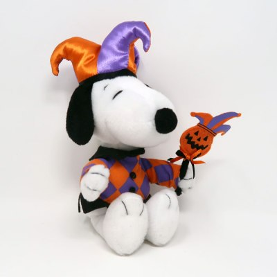 Snoopy Halloween Jester Plush