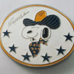 Snoopy Cowboy Belt Buckle
