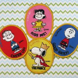 For Sale - Peanuts Interstate Brands Patches