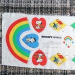 Peanuts & Snoopy Mobile Cut n' Sew Fabric Panel