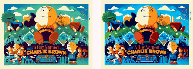A Boy Named Charlie Brown by Tom Whalen