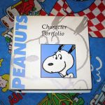 Peanuts Character Portfolio Binder - What wonders will we find inside this 3