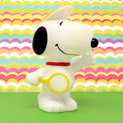 Snoopy Tennis Player Squeaky Toy