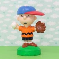 Charlie Brown baseball Playdoh Topper Figurine