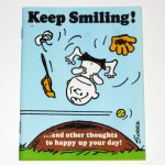 Keep Smiling Peanuts Greeting Card Book