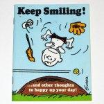 Keep Smiling Peanuts Greeting Card Book