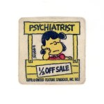 "Lucy in Psychiatrist Booth ""1/2 Price Sale"" Patch"