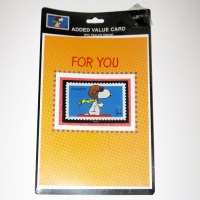 Snoopy Flying Ace Stamp Greeting Card
