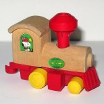 Peanuts Train Engine Wooden Toy